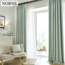Noise Blocking Curtains South Africa by 2018 Norne Solid Faux Linen Blackout Curtain Thermal Insulated