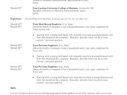 Cover Letter Examples For Recent College Graduates Resume Graduate No Experience