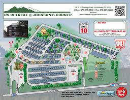 Click Here To See A Larger Map Park Layout For RV