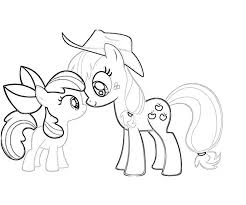 Trend My Little Pony Applejack Coloring Pages Design Gallery