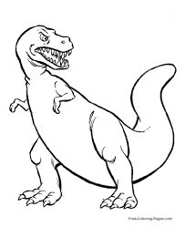 Dinosaur Coloring Pages Throughout Color