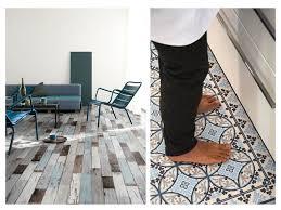 Patterned Vinyl Flooring
