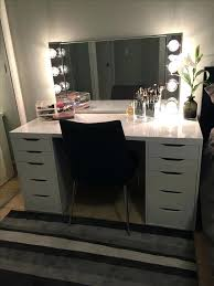 Diy Vanity Table Ikea by Makeup Vanity Ikea Alex Mugeek Vidalondon