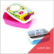 Lunch Box Red Fly Personalized Photo Products