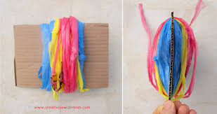 Pom From Plastic Bags How To