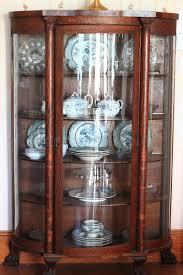 Antique China Cabinet stock photo Image of hardwood