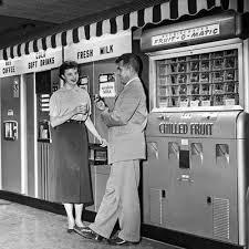 Vintage Milk Vending Machine Sign
