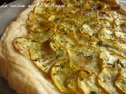 cuisiner la courgette jaune tarte à la courgette jaune la cuisine au fil d ariane