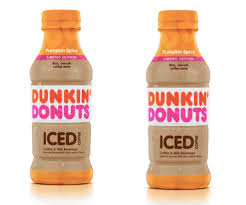 Dunkin Donuts Bottled Pumpkin Spice Iced Coffee Is Coming Soon