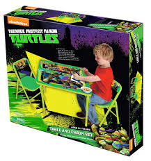 Ninja Turtle Table Set & ... Toddler Kids Bedroom Cut L& Light ... Teenage Mutant Ninja Turtles Childrens Patio Set From Kids Only Teenage Mutant Ninja Turtles Zippy Sack Turtle Room Decor Visual Hunt Table With 2 Chairs Toys R Us Tmnt Shop All Products Radar Find More 3piece Activity And Nickelodeon And Ny For Sale At Up To 90 Off Chair Desk With Storage 87 Season 1 Dvd Unboxing Youtube