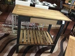 Handmade Reclaimed Wood Birch Bar