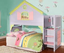 0300 doll house stair stepper loft bunk bed discovery world