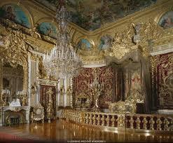 herrenchiemsee barock schlafzimmer palast interior