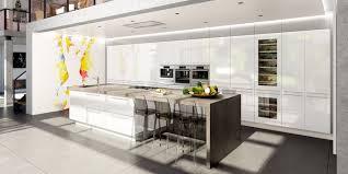 cuisine avec ilots chic modèle de cuisine avec ilot central cuisine contemporaine