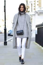 10 ways to wear white jeans all winter long glamour