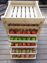 innovative fruits storage solution ideas performing drawer and