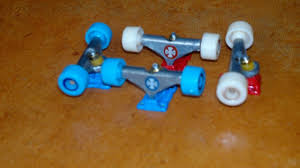 Cheap Wooden Tech Decks by Techdeck Wood With Competition Series Trucks And Ricta Wheels