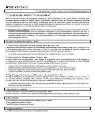 software team leader resume pdf cover letter project manager resume template it project manager