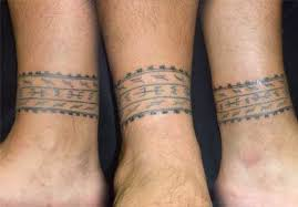 Samoan Bands Tattoo On Ankles