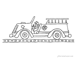 Little Blue Truck Coloring Pages | Great Free Clipart, Silhouette ...