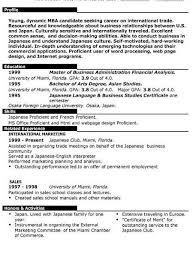 Information Technology Resume Objectives Examples Onwebioinnovateco For Example Of Fresh Graduate