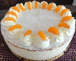 biskuit mandarinen käsesahne torte