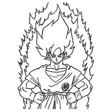 Goku Super Saiyan Vegeta 4 Coloring Pages