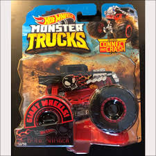 100 Hot Wheels Monster Truck Toys 2019 S Bone Shaker DieCast With Connect And Crash Car 12