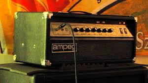 Ampeg V4 Cabinet For Bass by Ampeg V2 With Built In Distortion Youtube