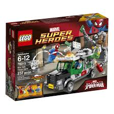 LEGO Superheroes 76015 Doc Ock Truck Heist , New, Free Shipping ... 12 Scale Marvel Legends Shield Truck Vehicle Spiderman Lego Duplo Spiderman Spidertruck Adventure 10608 Ebay Disney Pixar Cars 2 Mack Tow Mater Lightning Mcqueen Best Tyco Monster Jam For Sale In Dekalb County Popsicle Ice Cream Decal Sticker 18 X 20 Amazoncom Hot Wheels Rev Tredz Max D Coloring Page For Kids Transportation Pages Marvels The Amazing Newsletter Learn Color Children With On Small Cars Liked Youtube Colours To Colors Spider Toysrus