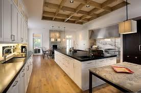 Bold Inspiration Galley Kitchen With Island Layout Bench Designs Dimensions At End In