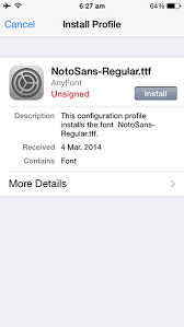 How to Add Custom fonts to iPhone or iPad without Jailbreaking