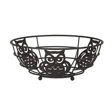 Amazoncom Home Basics FB44122 Owl Fruit Bowl 11