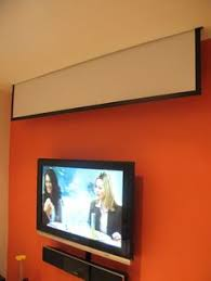 Drop Ceiling Mount Projector Screen by Diy A Quick And Dirty 20 Projector Ceiling Middle Couples And