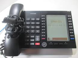 TOSHIBA IP5631-SDL 20-BUTTON IP 9-LINE BACK-LIT DISPLAY VOIP PHONE ...