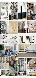 24 Ideas On How To Decorate Tall Walls Remodelaholic Decorating
