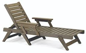 Outdoor Chaise Lounge Chairs Black Teak Cushions Wood