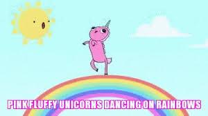 Pink Fluffy Unicorns GIFs