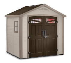 Rubbermaid Vertical Storage Shed by Keter Bellevue 8x6 Plastic Storage Shed 17190650 On Sale Now
