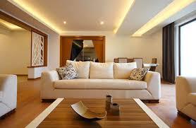 indirekte beleuchtung im wohnzimmer mit led für wand decke