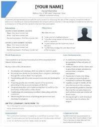 Account Executive Resume Senior Sample Manager Job