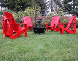Red Adirondack Chairs Polywood by 3 Steps For Hosting Indoor Outdoor Parties In The Fall Fifthroom