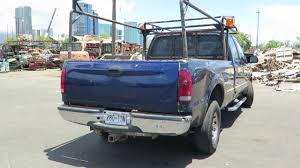 100 Truck Pipe Rack Lot 9 HTM Auction 01 Ford F250 Super Duty 4 Door