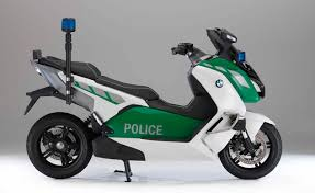 BMW C Evolution Police Spec Electric Scooter Concept