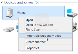 Transfer from iPhone to PC Windows 8 x without iTunes