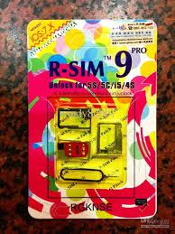 R Sim 9 Pro Rsim 9 Unlock All Iphone 5s 5c 5g 4s Rsim9 Ios 7 Gpp