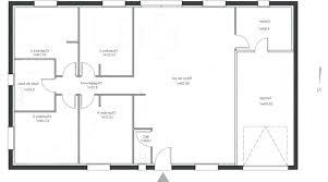 plan maison plain pied gratuit 3 chambres plan maison plain pied gratuit plan maison 90m2 plain pied 3