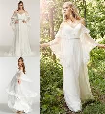 Soft Pink Rustic Boho Wedding Plus Size Wedding Dress Reviews
