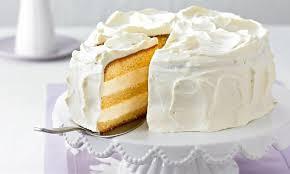 weiße torte