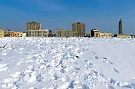 neige le havre porte ocã ane le havre en photos